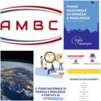 Logo AMBC -Poco coinvolgimento e scarsa trasparenza sul PNRR