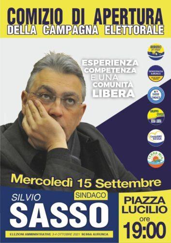 Silvio Sasso candidato sindaco